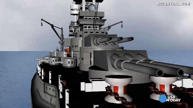 Take a 3D tour of famed Pearl Harbor ship USS Arizona