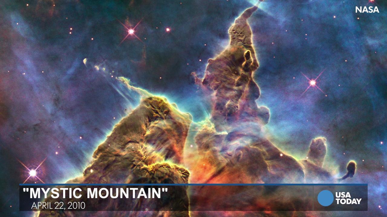 NASA Releases Highdefinition Photo Of Pillars Of Creation - Nasa release new hd photographs iconic pillars creation photo