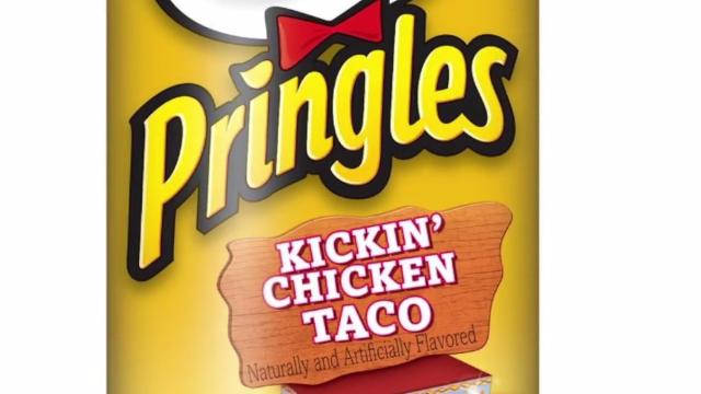 Pringles Quietly Releases New Food Truck Flavored Chips