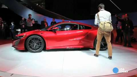 Acura's NSX oozes performance, slick curves