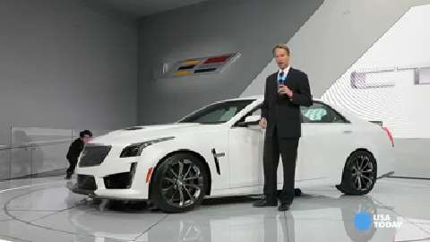 Cadillac hits 200 mph with CTS-V