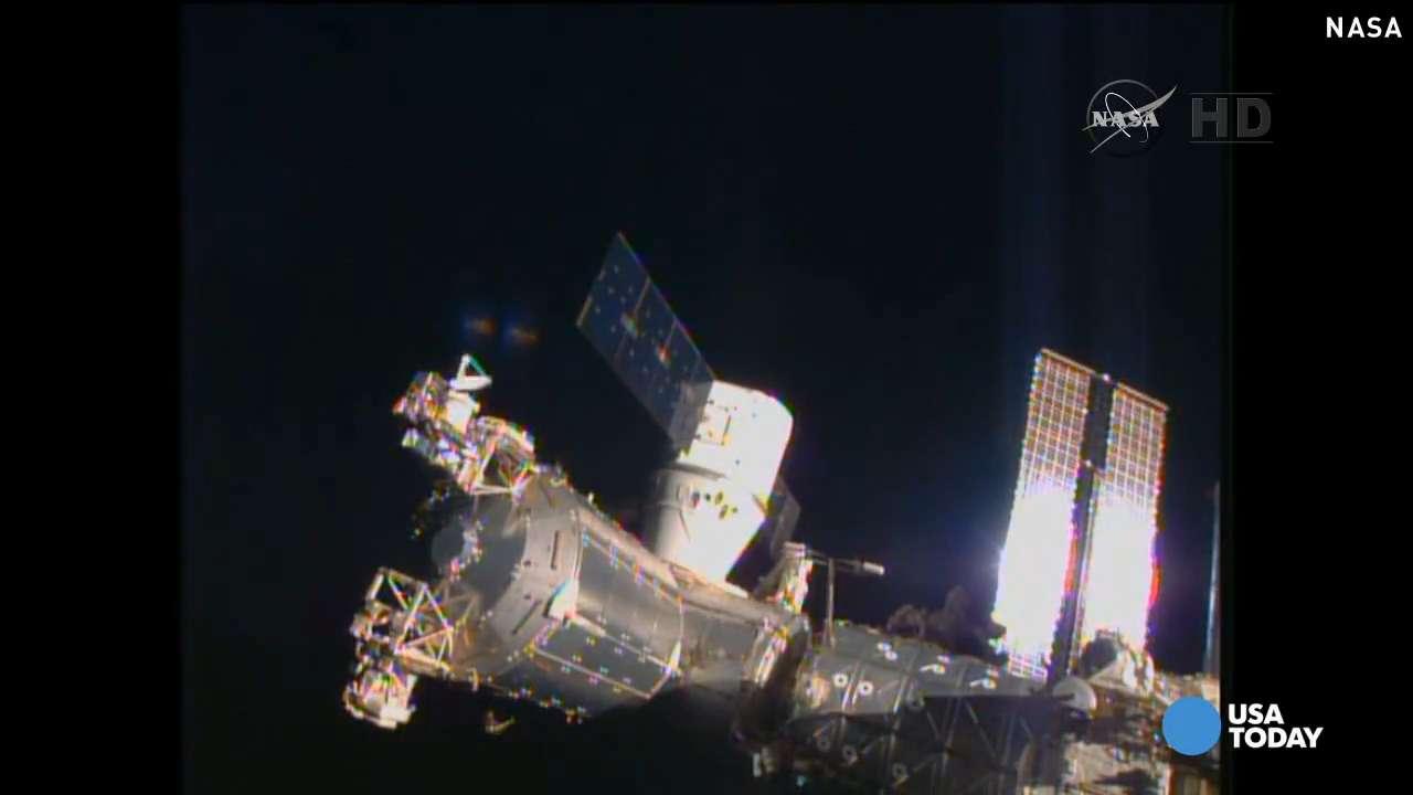 ISS crew safe after alarm, evacuation
