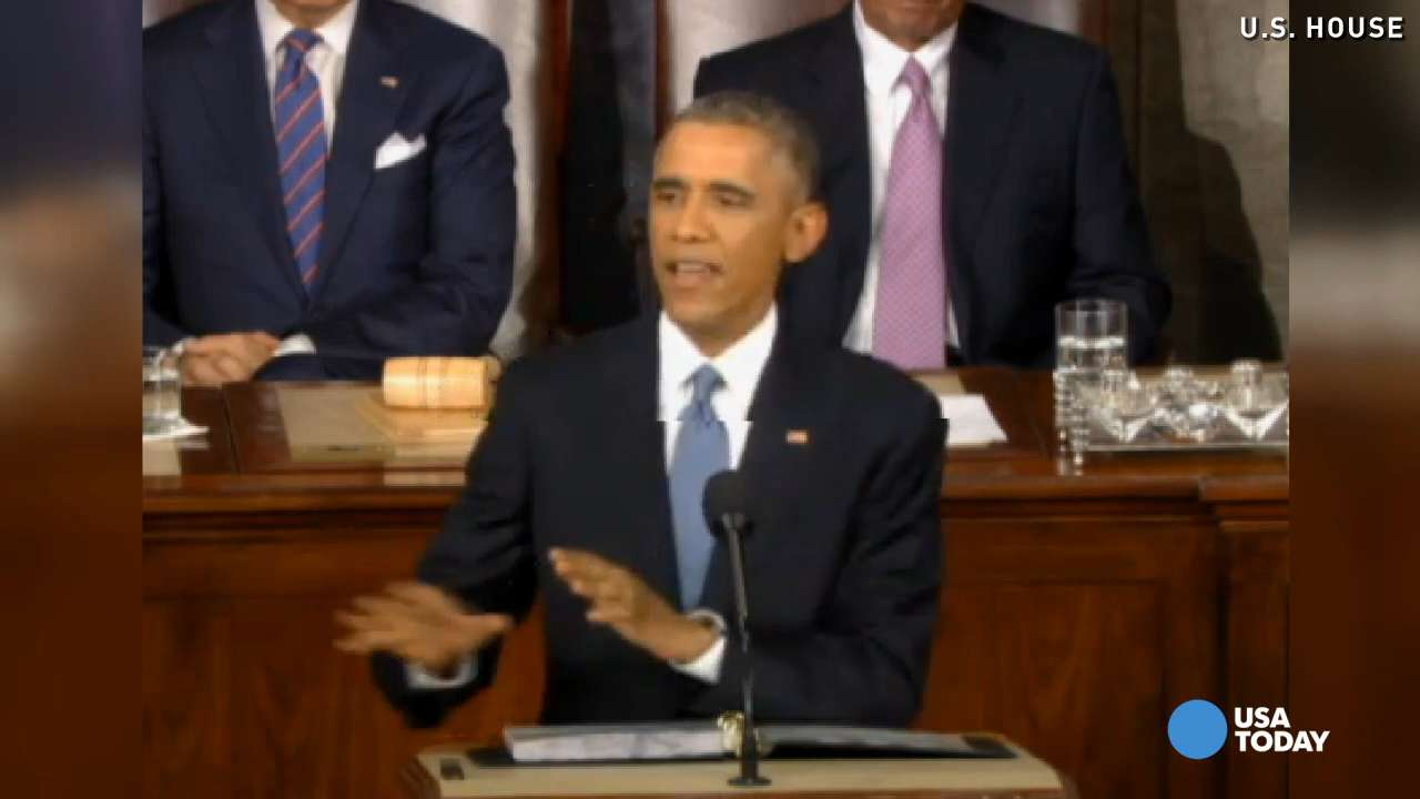 Watch the biggest moments of Obama's State of the Union