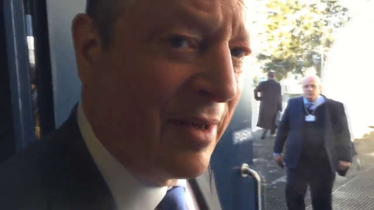 Al Gore from Davos: Climate change led to thinking change