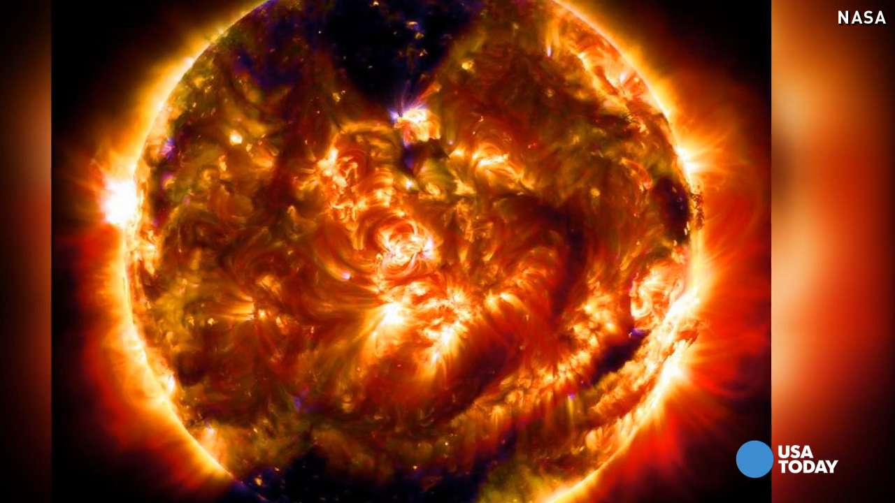 NASA unveils stunning 100-millionth picture of the sun