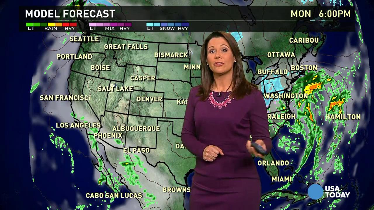 Monday's forecast: Blizzard warnings for Northeast