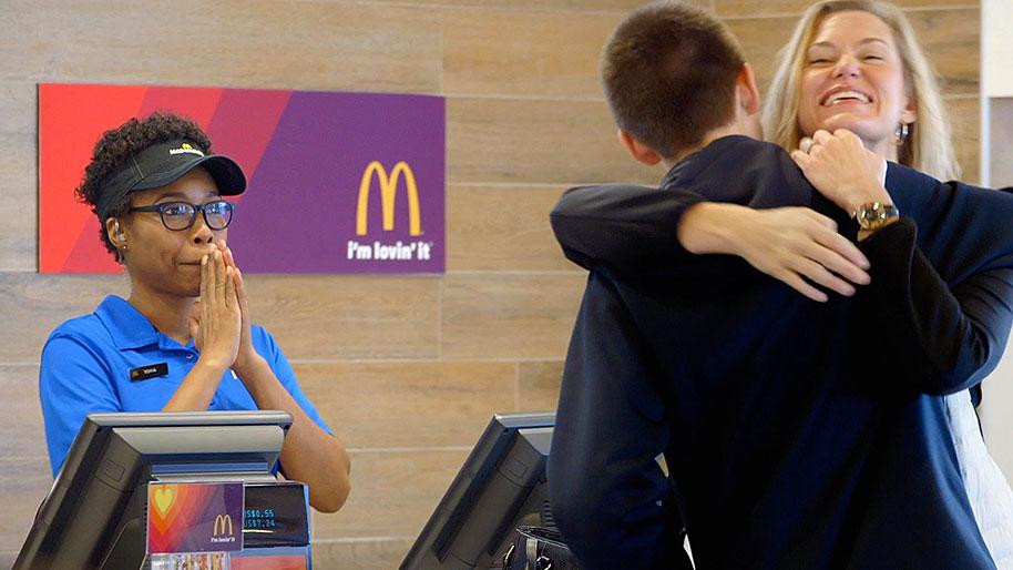McDonald's: 'Lovin' Pays'