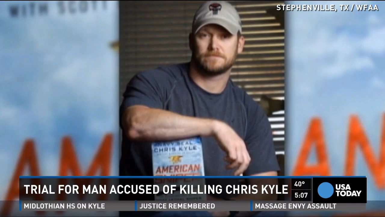 'American Sniper' murder trial puts focus on small town
