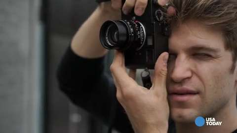 Keegan allen never leaves home without a leica m4hsunfo
