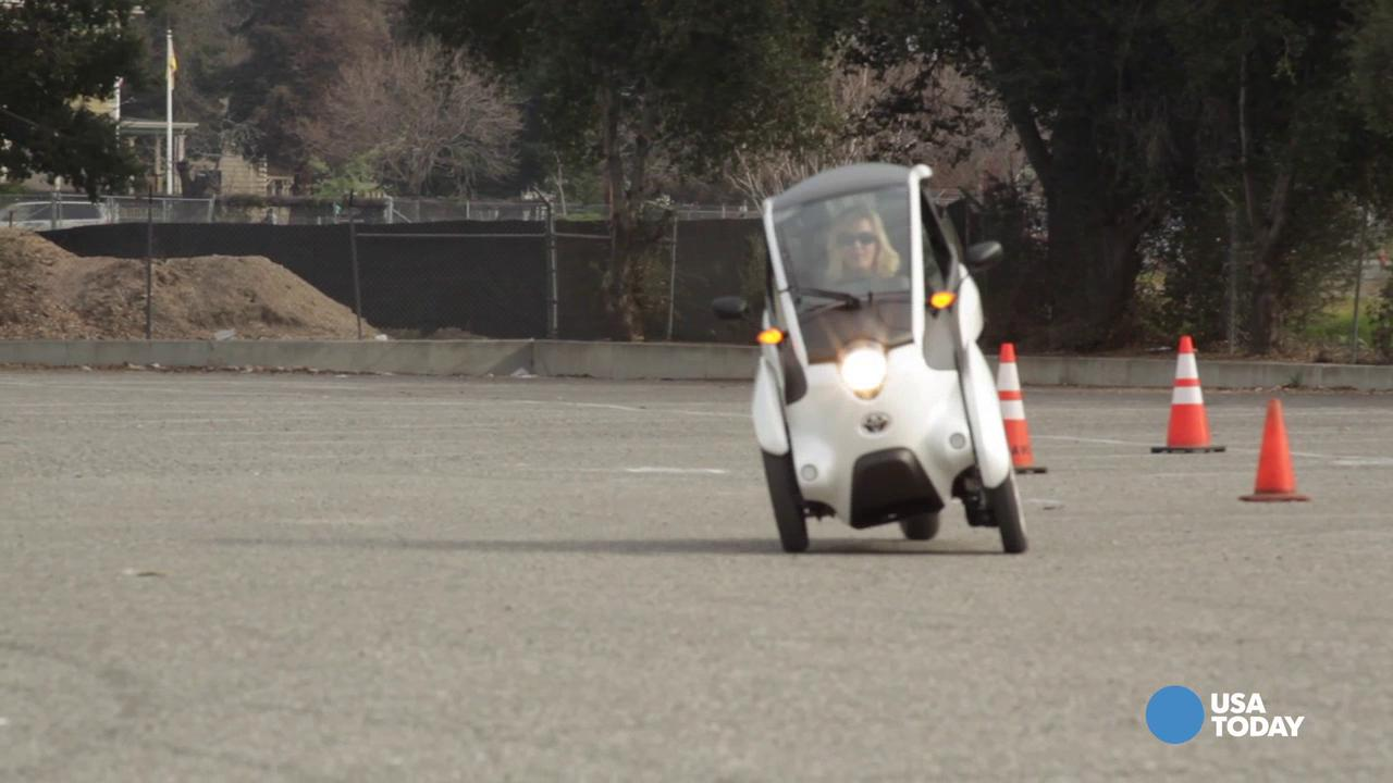 Inside Toyota's experimental iRoad