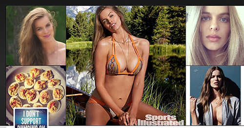 46ed86cfd0291 Plus-size model a first for Sports Illustrated swimsuit edition   USA NOW