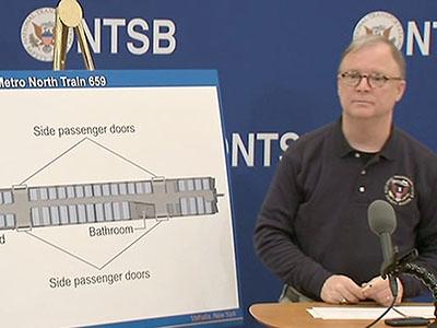 NTSB investigating third rail in NY train crash