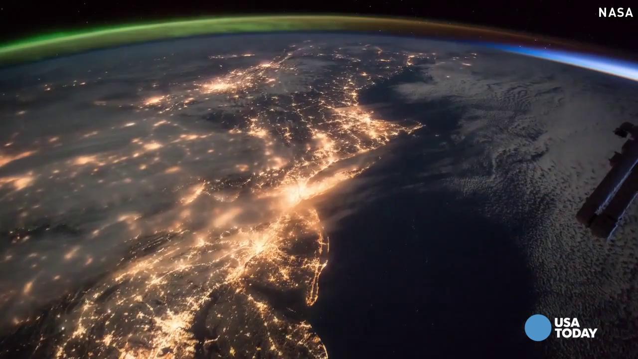 NASA releases amazing video of aurora touching sunrise