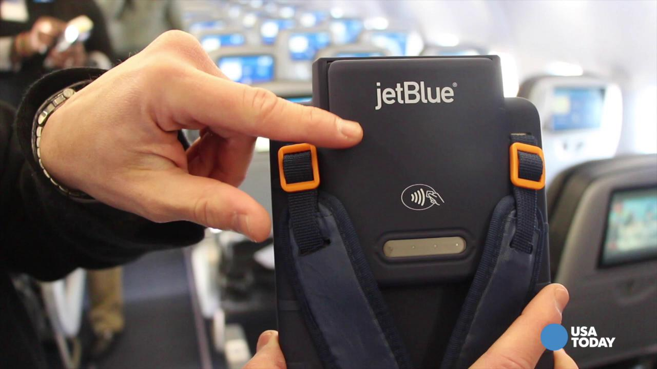 Hands on with JetBlue's new iPad Mini with Apple Pay support