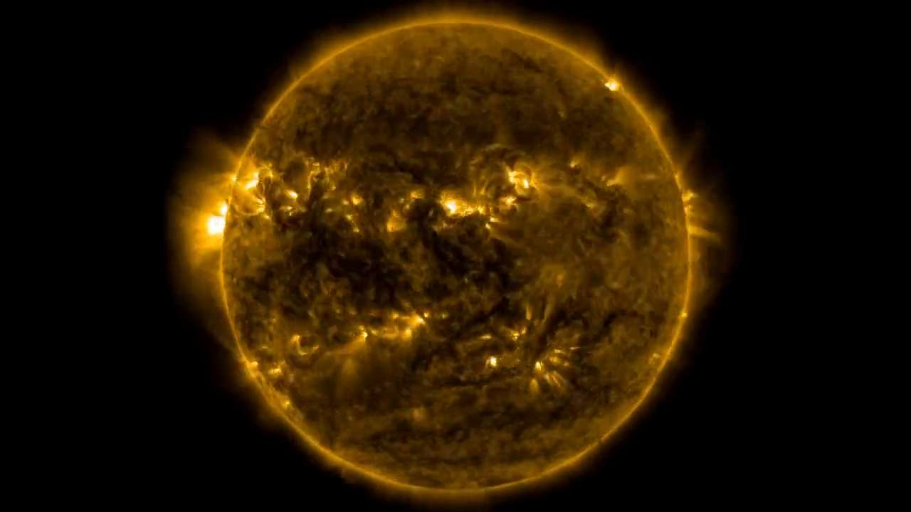 NASA releases amazing time-lapse of the Sun