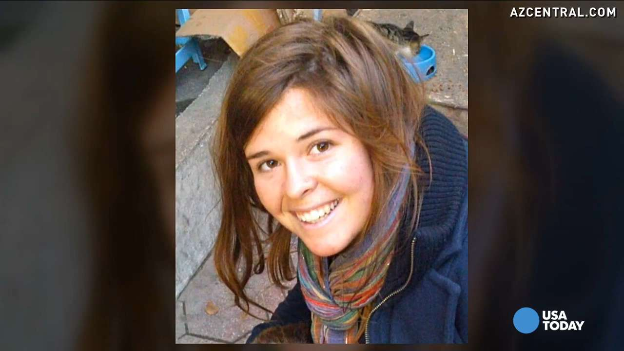 Friend of Kayla Mueller: She w...