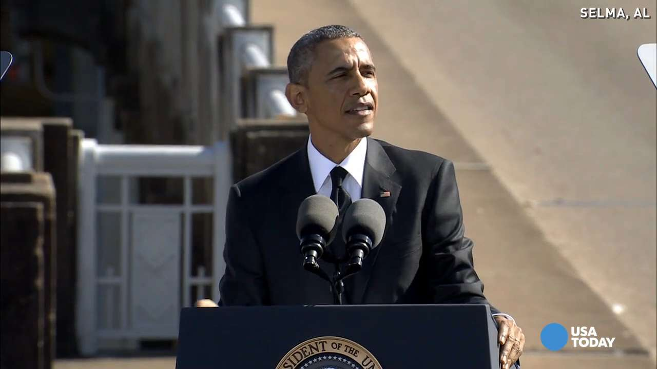 Obama: Selma taught us that 'our work is never done'