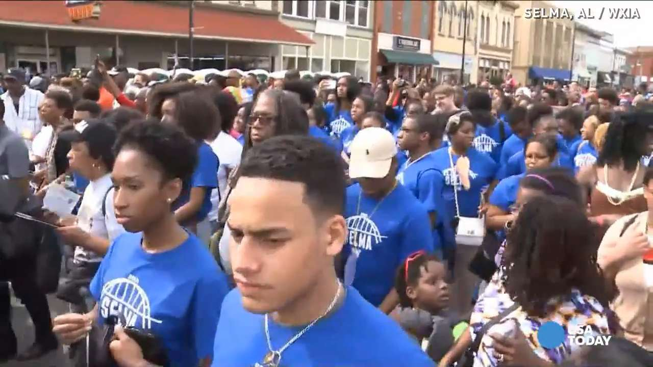 Student: I will always vote after marching in Selma