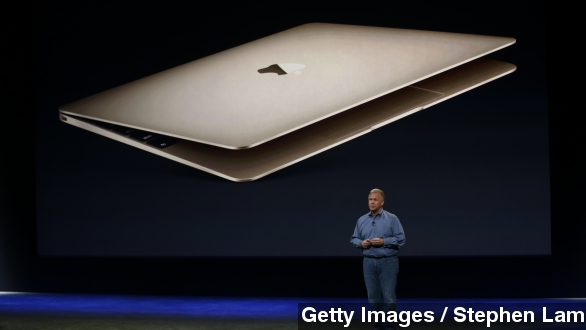 The new MacBook has a new USB Port - but only 1