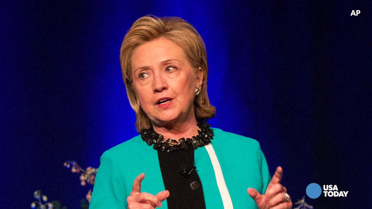 Hillary Clinton announces presidential run in 2016