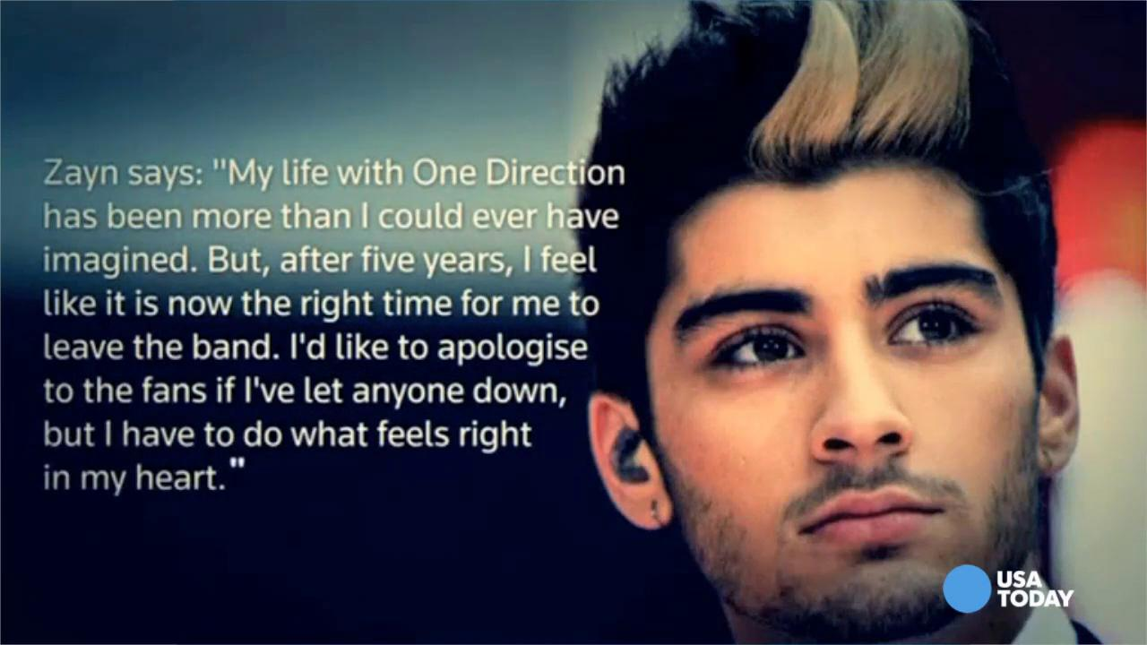 Image of: Tumblr Zayn Usa Today Zayn Malik Speaks Out About Quitting 1d