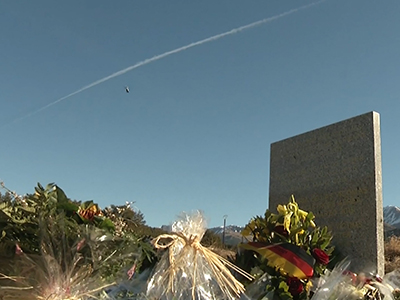Raw: Memorials in France for plane crash victims