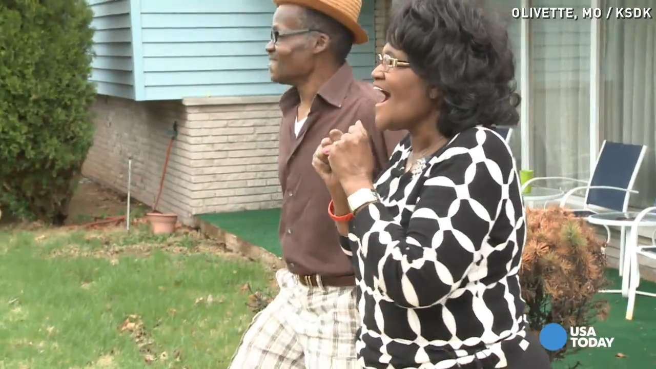Emotional moment Mpumalanga man is reunited with family after 49 years