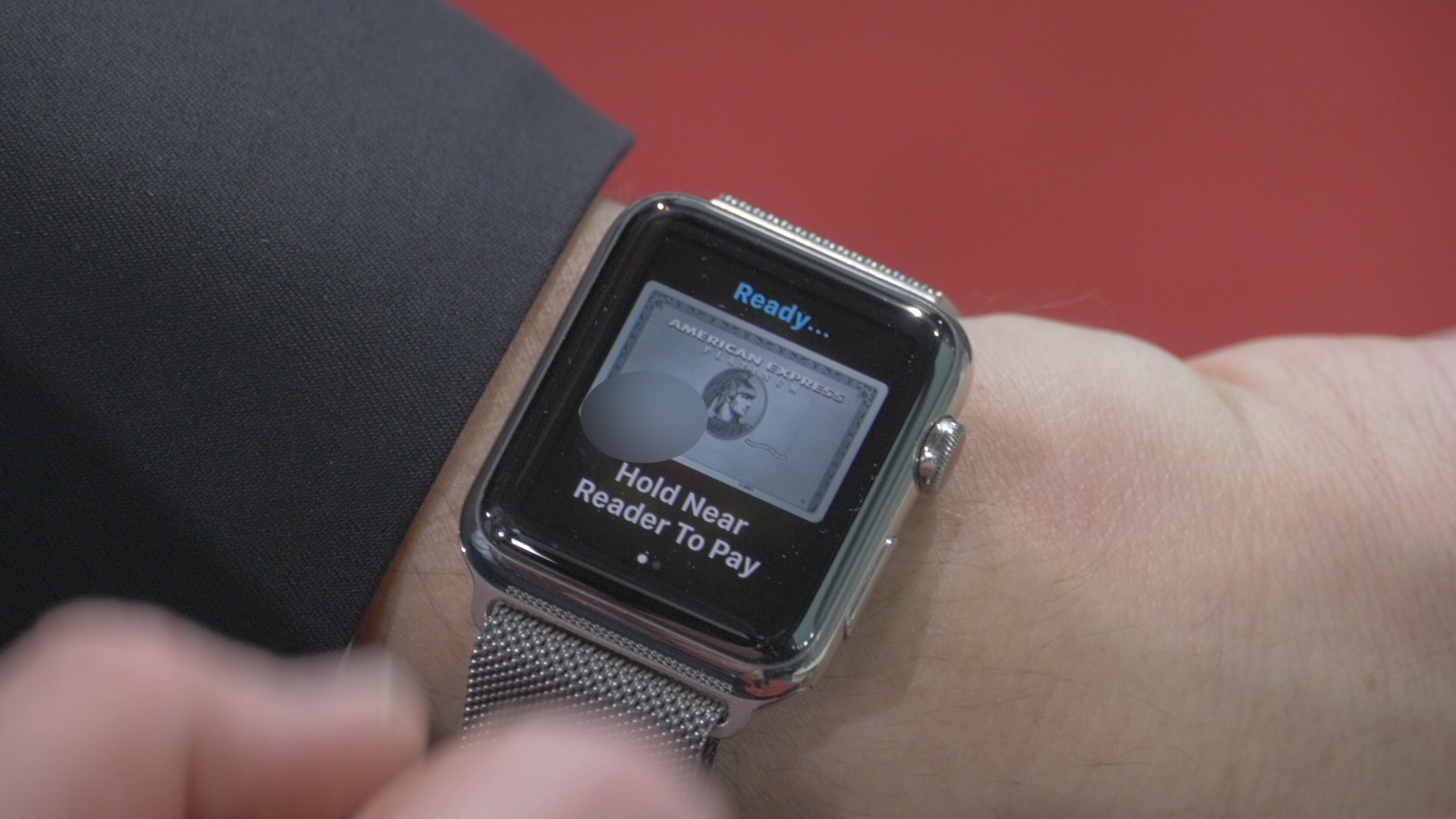 Check out Apple Pay on the Apple Watch