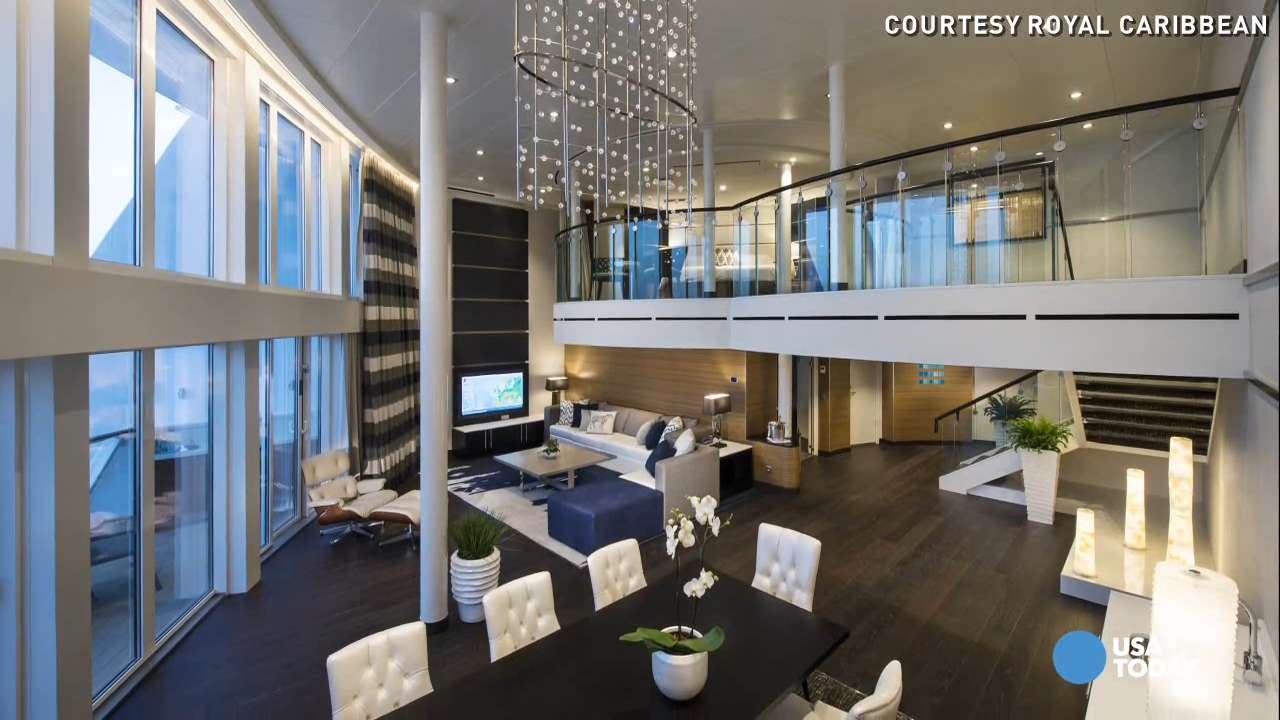Skylofts 2 Bedroom Loft Suite First Look Inside The Super Suites On Anthem Of The Seas