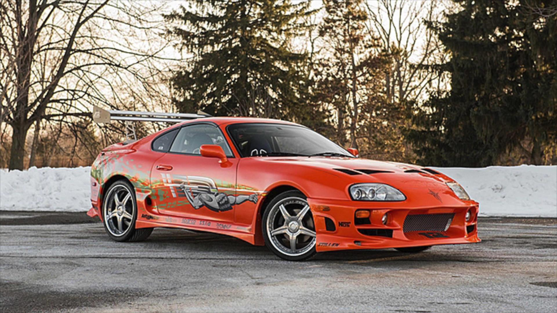 paul walker driven fast and the furious car up for sale