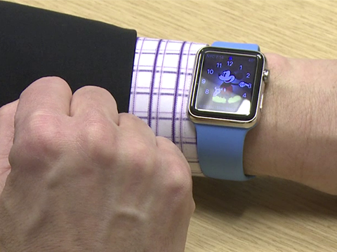 Swapping bands on the Apple Watch