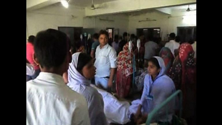 Dozens of students injured in India following Nepal quake