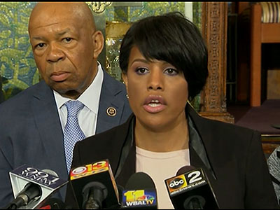 Baltimore mayor: 'This is our city'