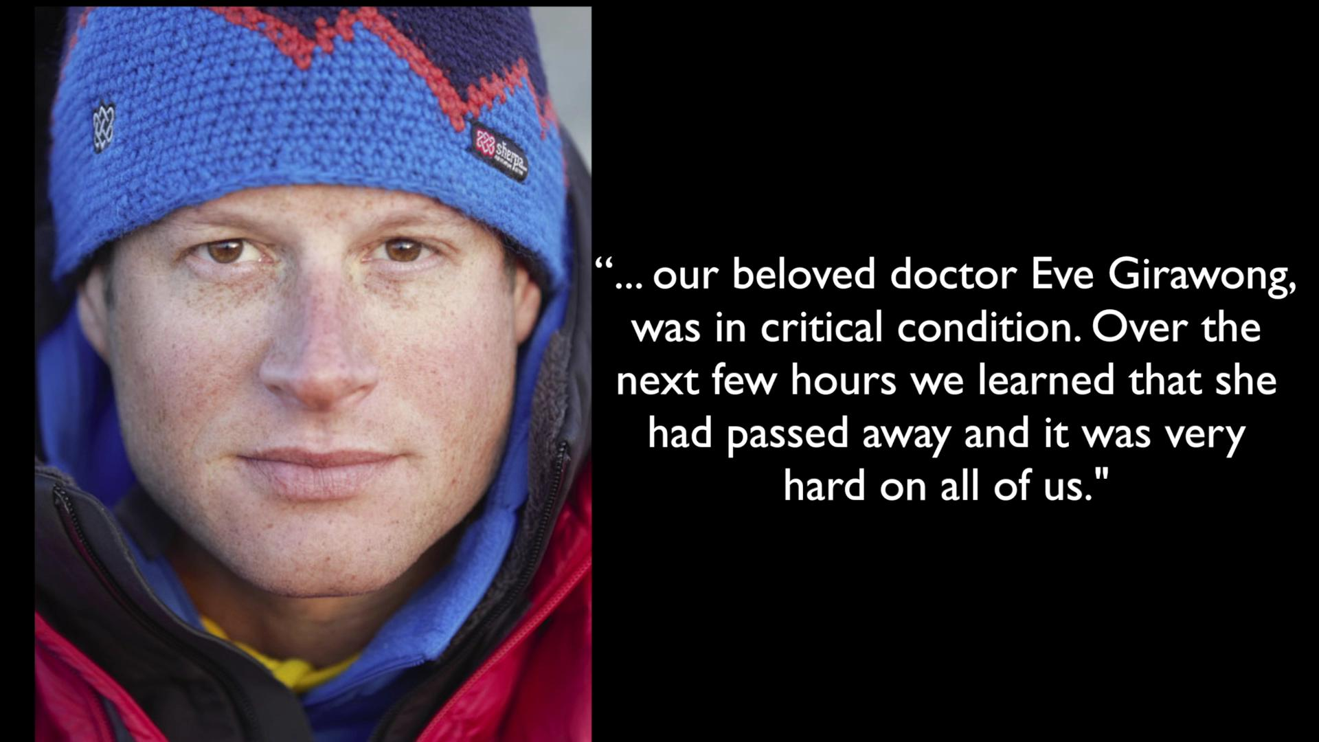 Mount Everest avalanche survivor describes tragedy