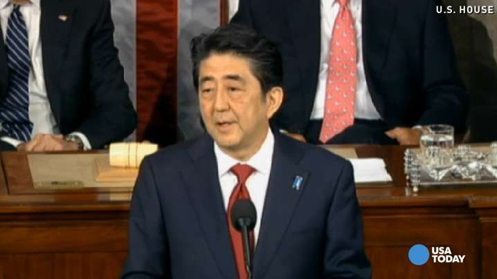 Japanese Prime Minister Abe offers condolences for WWII