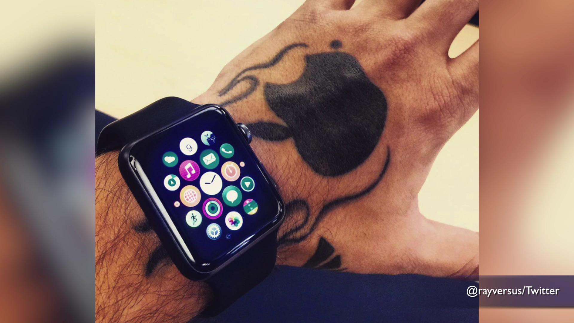 Apple Watch has a problem with tattoos
