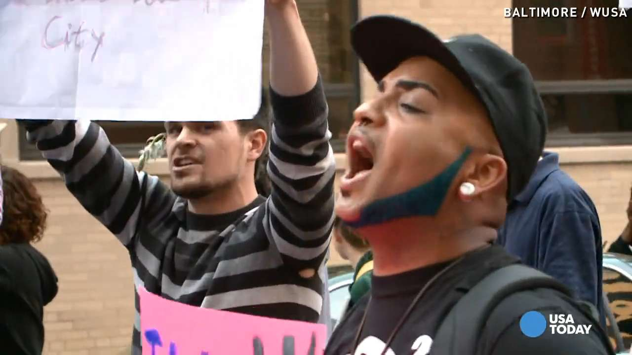Baltimore protester: 'It's time for a positive change'