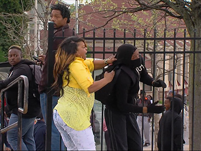 Baltimore mom: Teaching son 'right from wrong'