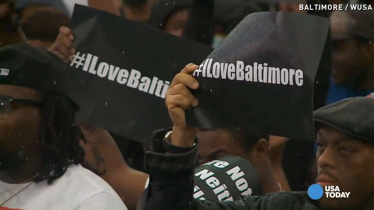 Baltimore protesters: 'We gotta keep pushing'
