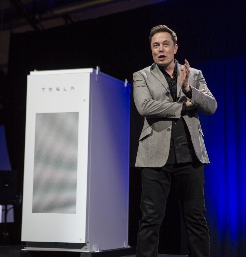 Elon Musk is selling battery packs for houses