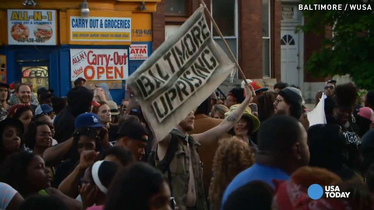 Baltimore curfew stirs controversy