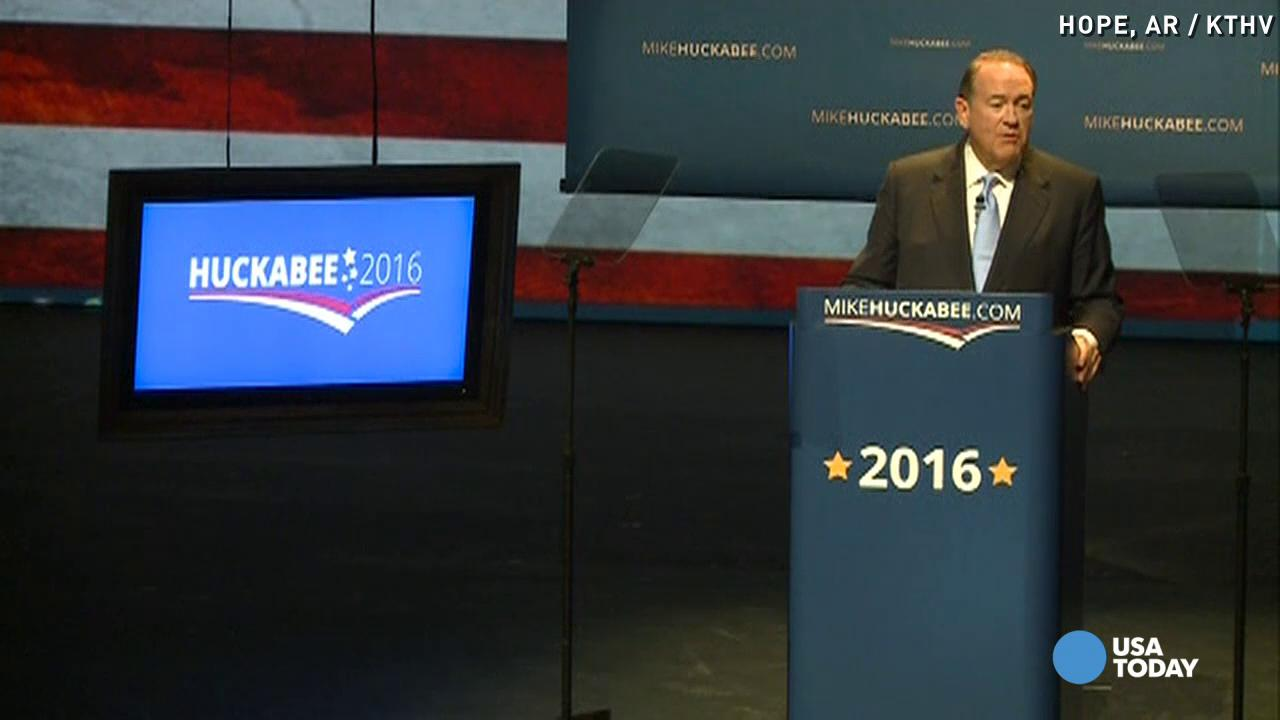 Mike Huckabee: 'I am a candidate'