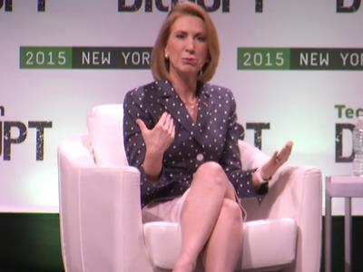 Fiorina makes case for president, defends past