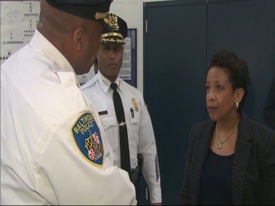 AG Lynch pledges support to Baltimore
