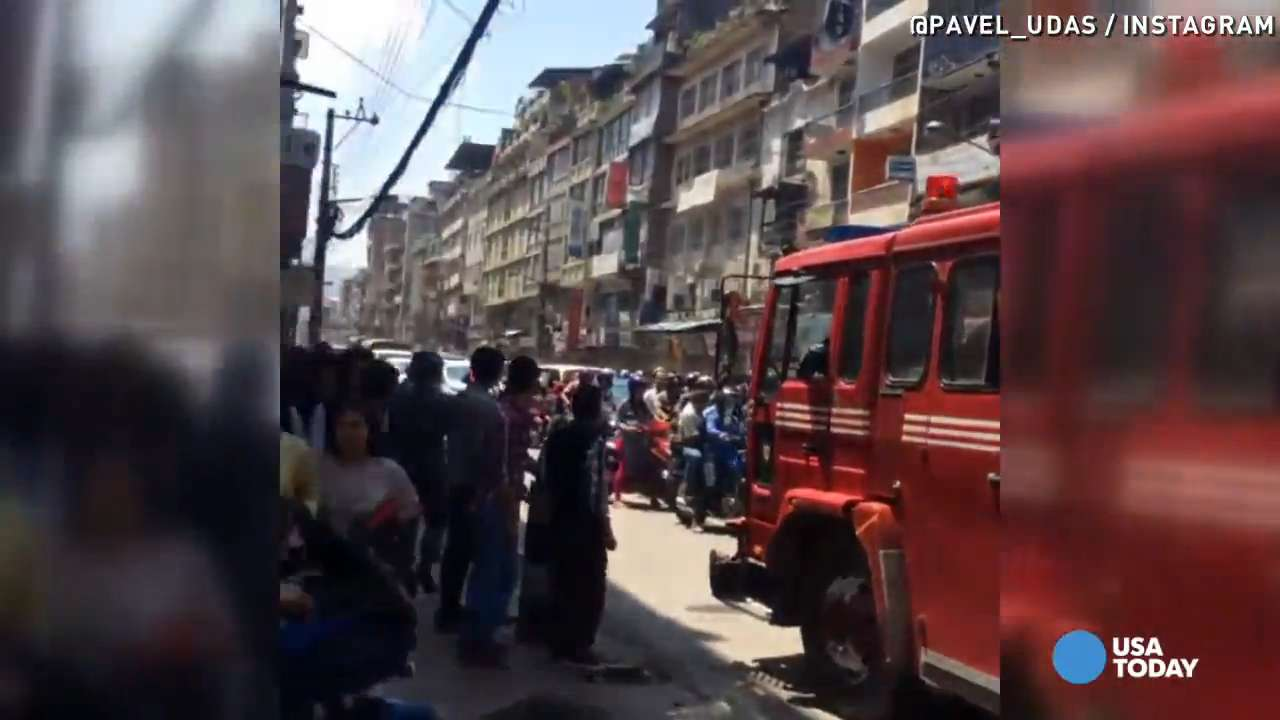 See the aftermath from Nepal's second major earthquake