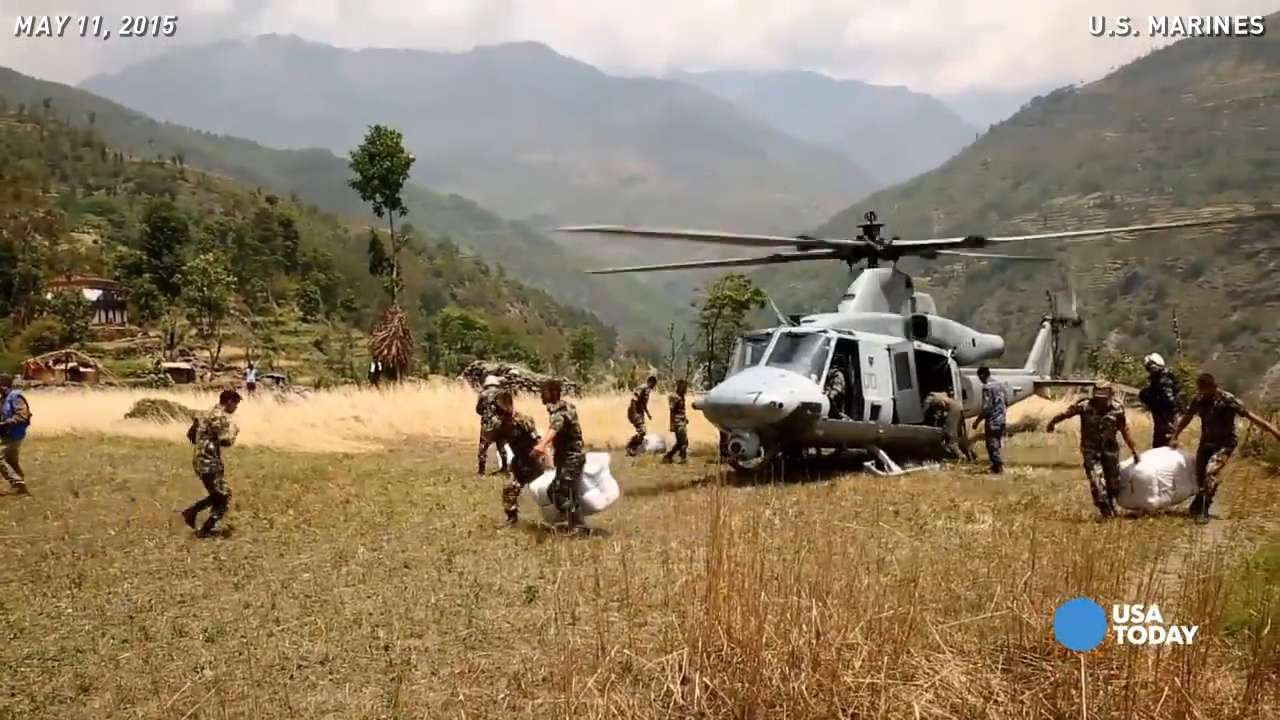 Marines describe earthquake relief mission in Nepal