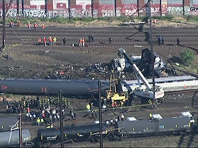 Death toll in train derailment rises to 8