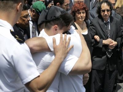 Funeral for Navy midshipman killed in derailment