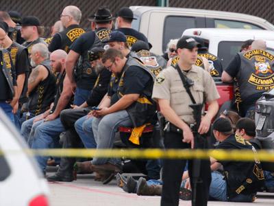Police: 9 dead in Texas biker gang shooting