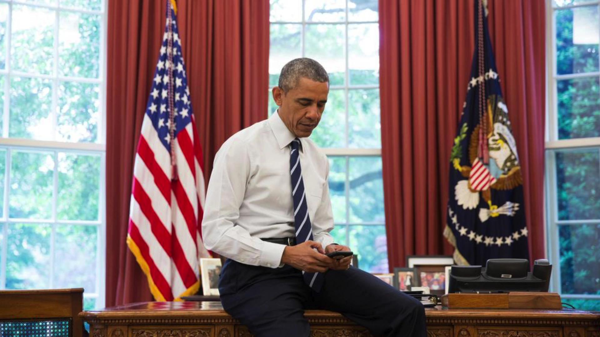 President Obama got his own Twitter account (for real this time)